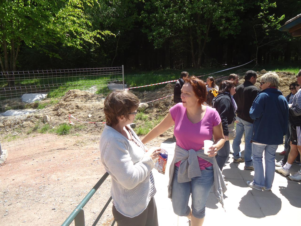 Journée pour la demi-décade au Col de crie